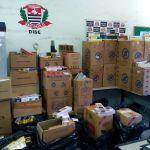 Polícia prende homem com 20 mil maços de cigarro na Santa Luzia
