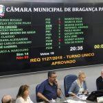 Projeto que autoriza modernização do transporte coletivo é aprovado com urgência pela Câmara